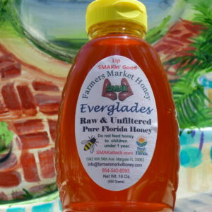 Raw and Unfiltered Everglades Honey