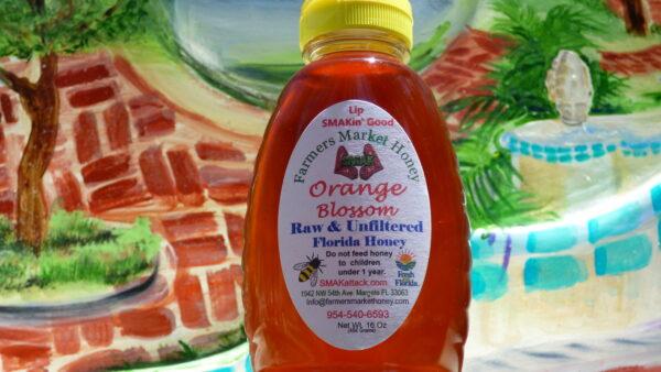 Lip SMAKin Good Raw and Unfiltered Orange Blossom Honey