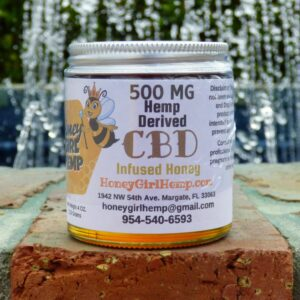 Florida Hemp Honey CBD 500 mg