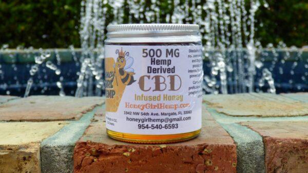 Florida Hemp Honey CBD 500 mg