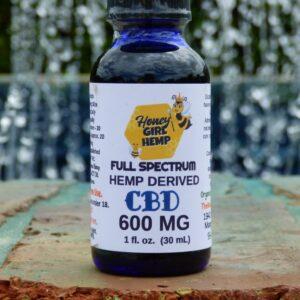 Hemp Derived CBD Oil 600 mg