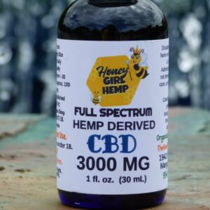 Hemp Derived Oil 3000 mg