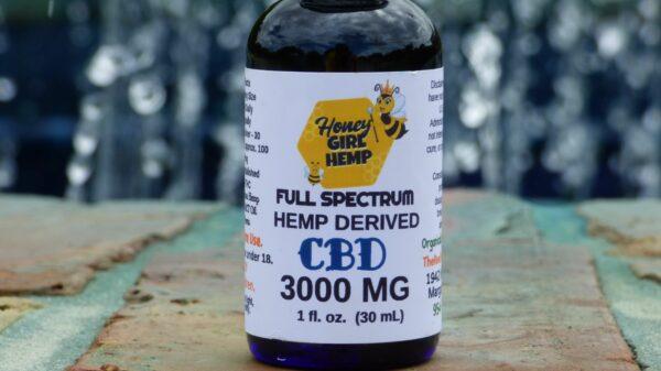 Hemp Derived Oil 3000 mg
